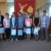 Nagrody dla młodych sportowców wręczone