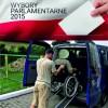 Samochód dla osób niepełnosprawnych chcących wziąć udział w Wyborach Parlamentarnych