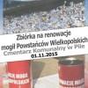 Zbiórka na renowację mogił Powstańców Wielkopolskich