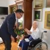 100 lat Pani Anny Jańczak – prezydent Piły odwiedził Jubilatkę