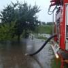 Ulewny deszcz przyczyną podtopień w Chodzieży