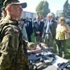 Sprzęt wojskowy i militaria na pikniku