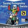 Turniej pożegnalny Piotra Śwista już 8 października w Pile