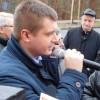 Poseł Marcin Porzucek spotkał się z manifestantami