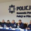 Odprawa roczna 2016 w Komendzie Powiatowej Policji w Pile