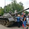 Pojazdy militarne opanowały Plac Zwycięstwa w Pile