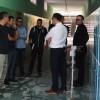Termomodernizowany budynek szkoły podstawowej nr 4 odwiedzili prezydent i wiceprezydent Piły