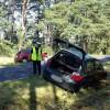 Wypadek na drodze DW180 na wysokości jeziora Stobno