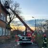 Wybuch gazu propan-butan w mieszkaniu