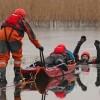 """""""Bezpieczne ferie"""" – ćwiczenia na lodzie"""
