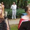 Soprany i pianista zauroczyli pilską, parkową publiczność