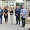 Prezydent Piotr Głowski przekazał klucze nowym lokatorom przy Andersa 5 w Pile