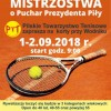 Nie zapomnij wziąć udział w Tenisowych Mistrzostwach o Puchar Prezydenta Głowskiego