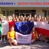 """Trwa staż uczniów pilskiego """"Gastronomika"""" w Bolonii w ramach Projektu Erasmus +"""