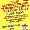 W Pile spróbują pobić rekord Polski w jednoczesnym jedzeniu jabłek