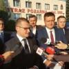 Poparcie wiceministra MSWiA dla posła Porzucka
