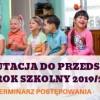 Rekrutacja do przedszkoli na rok szkolny 2019/2020 – terminarz postępowania