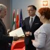 Srebrna Odznaka Honorowa za zasługi dla Związku Sybiraków dla Piotra Głowskiego, prezydenta Piły