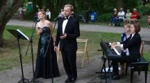 Melomani słuchali w pilskim parku szlagierów Mozarta