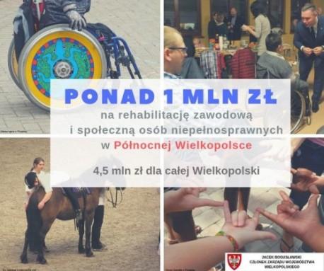 Konkurs rozstrzygnięty! Ponad milion złotych dla północnej Wielkopolski!