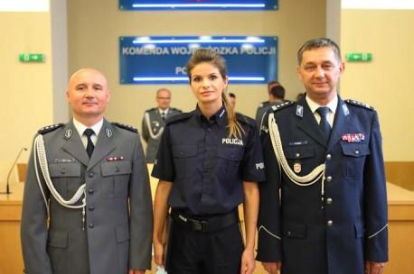 Ślubowanie nowych policjantów