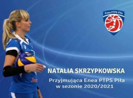 Natalia Skrzypkowska przyjmującą Enea PTPS Piła!