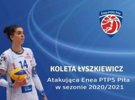 Koleta Łyszkiewicz dołączy do zespołu Enei PTPS-u Piła!