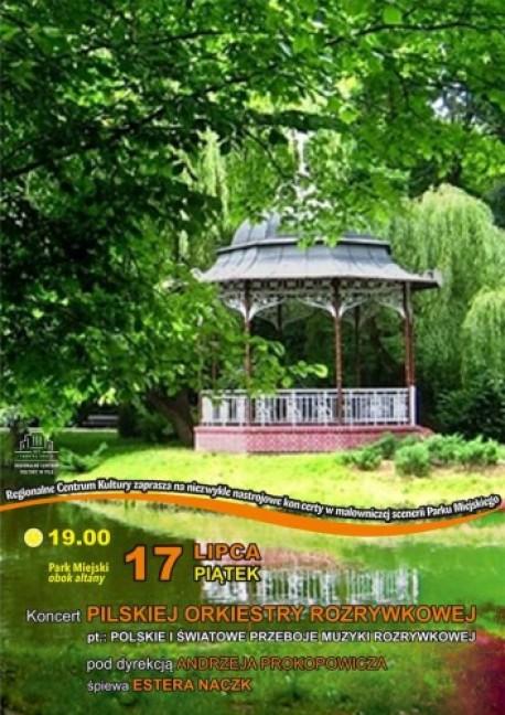 Pilska Orkiestra Rozrywkowa wystąpi w pilskim parku