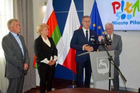 Prezydenci Piły apelują o udział w niedzielnych wyborach
