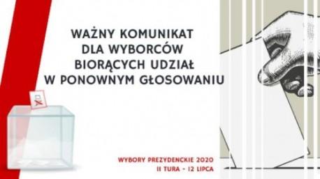 WYBORY 2020 – Drugie głosowanie