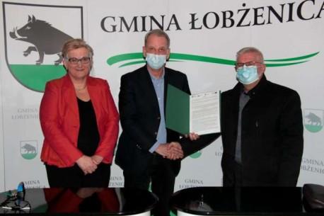 Łobżenica. Podpisanie umowy na stworzenie Centrum Przyrodniczo-Ekologicznego