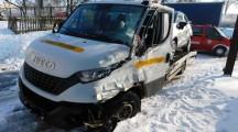 Powiat złotowski. Zderzenie pięciu pojazdów na drodze krajowej