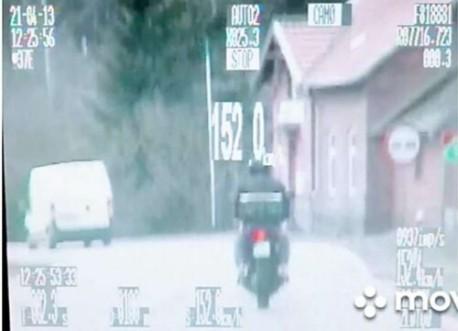Złotów. Przekroczył motocyklem dopuszczalną prędkość o 82 km/h