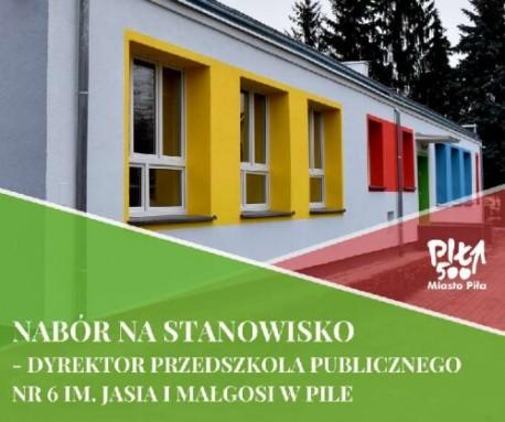 Piła. Konkurs na stanowisko dyrektora publicznego przedszkola