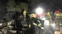 Piła. Dwie ofiary w pożarze altany