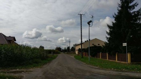 Montaż lamp solarnych oraz hybrydowych na terenie Gminy i Miasta Krajenka