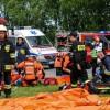Masowy wypadek w komunikacji drogowej w Polanowie
