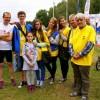 Wolontariusze Towarzystwa Pomocy chorym na triathlonie