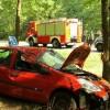 Zderzenie trzech aut między Piłą a Dobrzycą