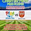 Wielki mecz charytatywny piłki nożnej w Pile