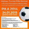 Zapraszamy na Halowy Turniej Piłki Nożnej o Puchar Prezydenta Piły