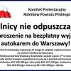 Rolnicy nie odpuszczają i organizują kolejny wyjazd do Warszawy