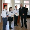 Pożegnanie uczniów w straży