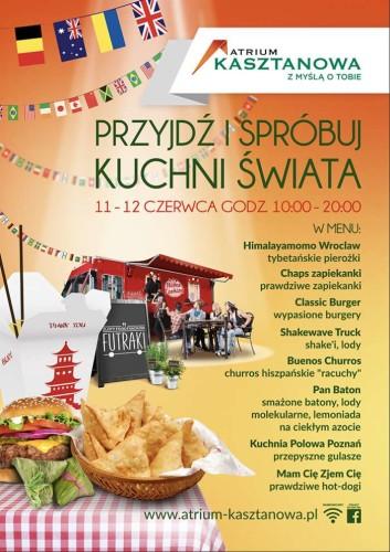 Kuchnie świata Na Czterech Kołach W Atrium Kasztanowa